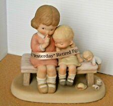 """Enesco Memories of Yesterday """"Hush"""" 1987 Figurine Retired"""