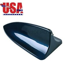 US Car SUV Blue Shark Fin Style Roof Top Mount Aerial Antenna Tape For Nissan ND