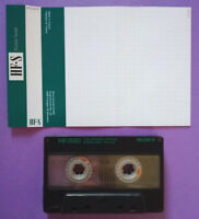 MC Musicassetta SONY HF-S 60 vintage tape compact cassette USATA no basf agfa °