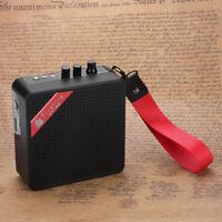 Portable Mini Pocket Amplifier For Electric Ukulele Guitar Amp Speaker Cabinet