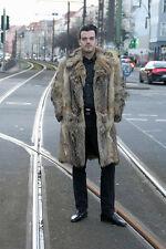 Herren Mantel Berliner Pelzmantel 70er TRUE VINTAGE 70´s men fur coat real fur