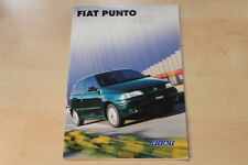 75470) Fiat Punto Stile Prospekt 04/1998