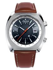 Alpina AL-555DGS4H6 Startimer Pilot Heritage Men's Swiss Automatic Brown Leather