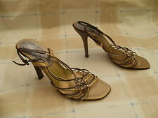 River Island Women's Evening 100% Leather Strappy Shoes