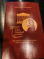 2005-P Chief Justice John Marshall Coin and Chronicles Set -  MINT ISSUE  -