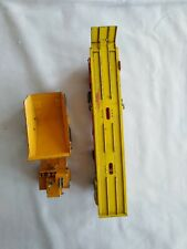 2 Lesney King Size No. K-2 KW Dart Dump Truck No. K-11 DAF Car Transporter