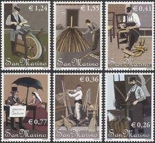 San Marino 2002 artesanía tradicional/Cuchillo/Herrero/Forge-Amoladora 6 V Set n45999