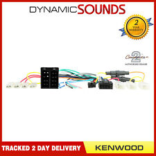 CT21KW04 16 Pin ISO Head Unit Replacement Wiring Harness for Kenwood Car Stereo