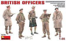 MODEL KIT SOLDIERS MIN35165 - Miniart 1:35 - British Officers