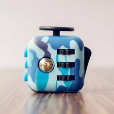Camouflage Fidget Cube Toy Anxiety Stress Relief Focus Attention Work Puzzle New