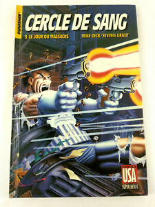BD Comic  Punisher Cercle de Sang 3 Le Jour du Massacre 1989  Comics USA