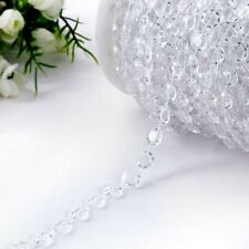 30M Wedding Acrystal Garland Bead Gem Iridescent Centerpiece Party