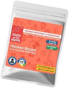 Food Supplies: Lightweight Dehydrated Pouched Meal - Chicken Biryani - DofE etc.