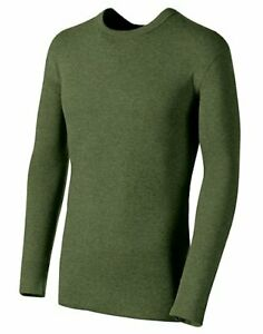 Champion Duofold Thermal Shirt Originals Wool Blend Mens Long Sleeve dual layer