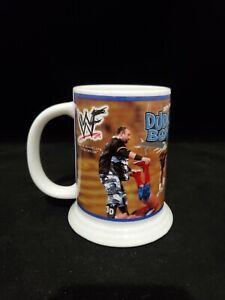 WWF The Dudley Boyz Bubba Ray D-Von Danbury Mint Collector Stein 2001 WWE Mug
