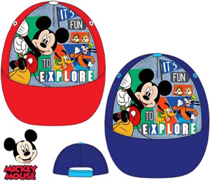 Baseball cap Mickey Mouse 100% Polyester Kinder Kappe  Schildmütze Sommer