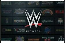 WWE Network Account Compte premium