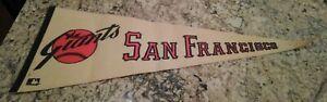Vintage San Francisco Giants Pennant 1960's  MLB      Full Size