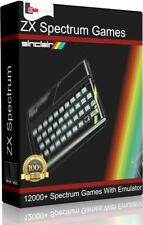 12000+ ZX Spectrum Sinclair Games Emulator Windows PC Retro Gaming 48K 128K
