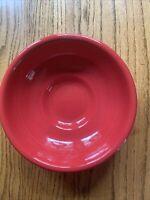 Fiesta® 64oz Pedestal Serving Bowl Red
