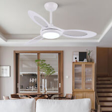 ø44 inch Ceiling Fan Light w/Remote Control 3 Blades Dimmable 3000-6000K White