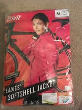 Ladies Pink Crivit  Stretch cycling Jacket, size 18-20 Large