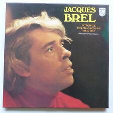 Coffret JACQUES BREL Integrale des chansons 1954 à 1962 5XLP 6641560
