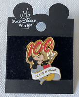 NEW 100 Years Of Magic Pin Walt Disney Worlds Mickey Mouse
