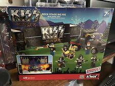 2013 k'nex KISS Monster rock stage big rig building set  lego Beautiful NIB