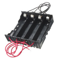 18650 Rechargeable Battery Case Box Holder  4 Slots 18650 Plastic storage Case