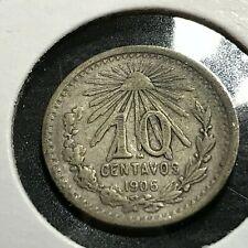 1905 MEXICO 10 CENTAVOS BETTER COIN