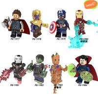 Single Avengers Endgame Thanos Thor Iron Man Hulk Captain America War Machine