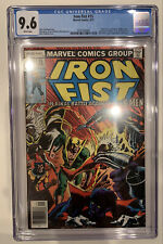 (1977) IRON FIST #15 CGC 9.6 WP! X-MEN APP! JOHN BYRNE ART! LAST ISSUE!