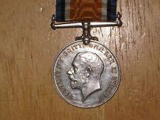 WW1 silver British War Medal named to Welsh Regiment