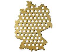 Beer Cap Traps Map of Germany Bottle Beer Soda Wood Caps Organizer