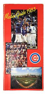 Chicago Cubs 1983 Press News Media Information Guide MLB Baseball Annual