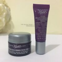 NEW Kiehls Super Multi-Corrective Cream 0.25oz/7ml & Eye-Opening Serum 0.1oz/3ml