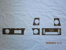 1970-72 skylark GS dashboard wood grain trim kit for cars with  air