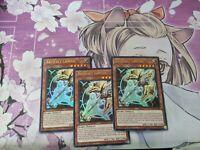 x3 Artifact Lancea DUDE-EN033 Ultra Rare 1st Edition NM/M YuGiOh!