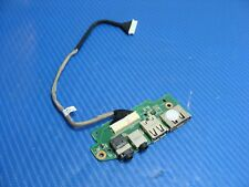"Asus 16"" N61Vg OEM Audio USB Board w/Cable 69N0GDA10B02-01 60-NXDAU1000-B02 GLP*"