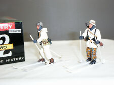 King and Country BBG10 allemand Alpina hiver ski Troopers METAL TOY SOLDIER SET