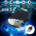 USB 3.0 External CD DVD RW Writer Drive Burner Reader Player For Laptop PC MAC