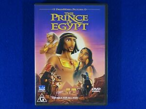 The Prince Of Egypt - DVD - Free Postage!!