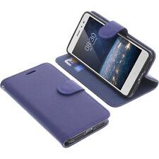 Custodia Per Tp-Link Neffos X1 Lite Book-Style Protettiva Cellulare Libro Blu