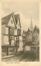 s10473 Peter Street, Bristol, England postcard unposted