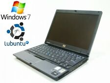HP 2510p, Win7+Lubuntu, 1.33GHz, (New HD+Battery+Charger), DVD, Office07!!