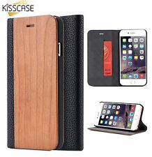 Apple IPhone 6 / 6s Premium Bamboo wallets in 4 colours / UK seller free P&P