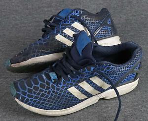 adidas torsion, Gr. 44 2/3, UK 10, Schwarz/Blau, Textil, used