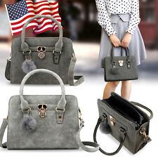 56233b0aee3da6 Winter Handbag Shoulder Bag Tote Purse Fashion Faux Leather Women Messenge  Hobo