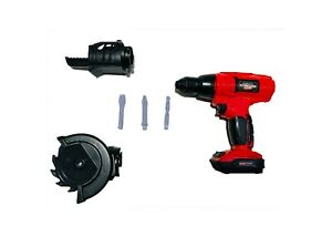 Kids Pretend Play Toy Drill Tool Set Power Tool Workshop Sound Battery Operated